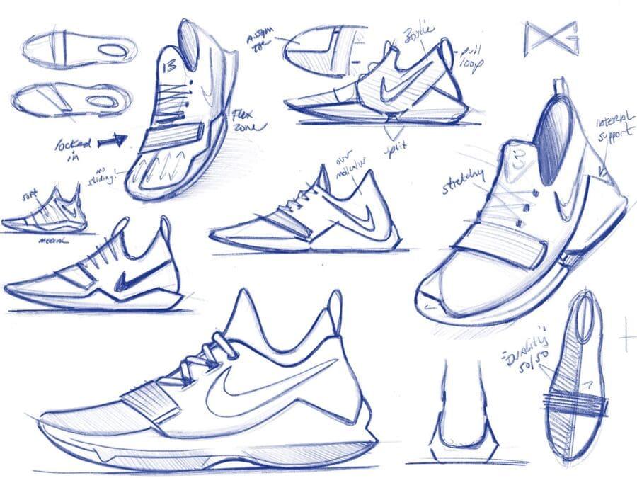 các bộ phận của giày sneaker