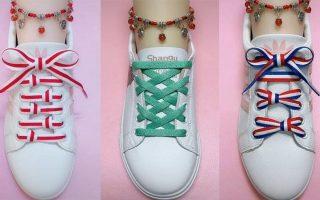 cách buộc dây giày dài