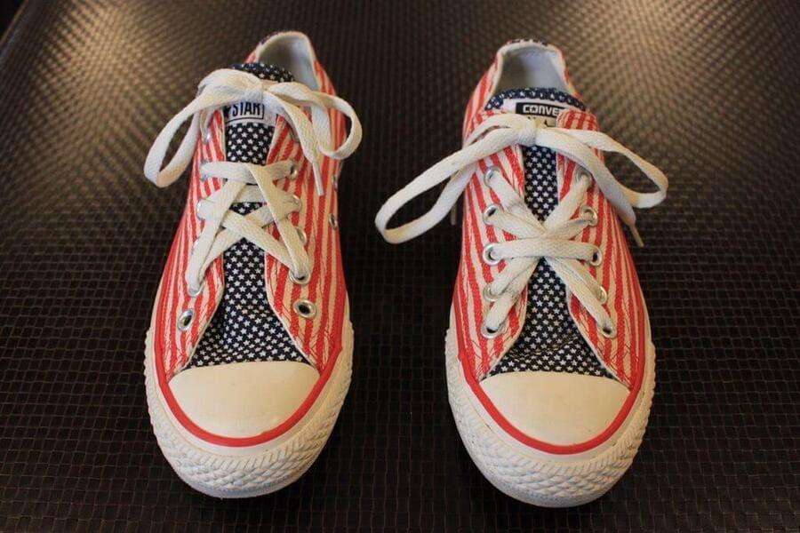 cách buộc dây giày hình ngôi sao