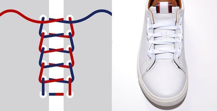 cách xử lý dây giày quá dài