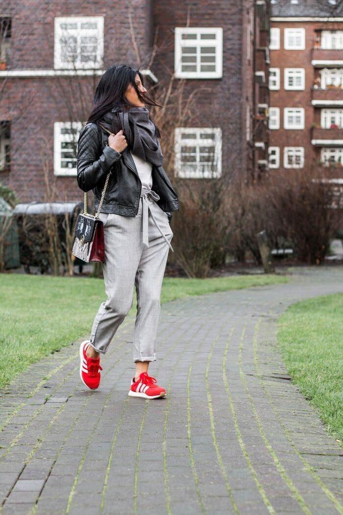 cách phối giày adidas nữ đẹp