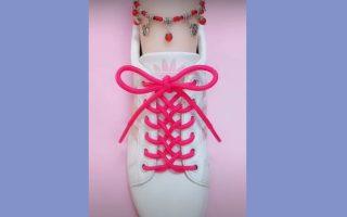 cách thắt dây giày hình trái tim