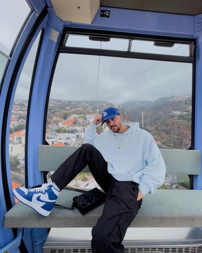 phối đồ với giày nike air jordan nam cùng áo hoodie
