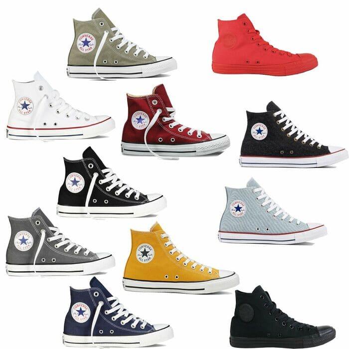 phối đồ với giày thể thao nên lưu ý màu sắc