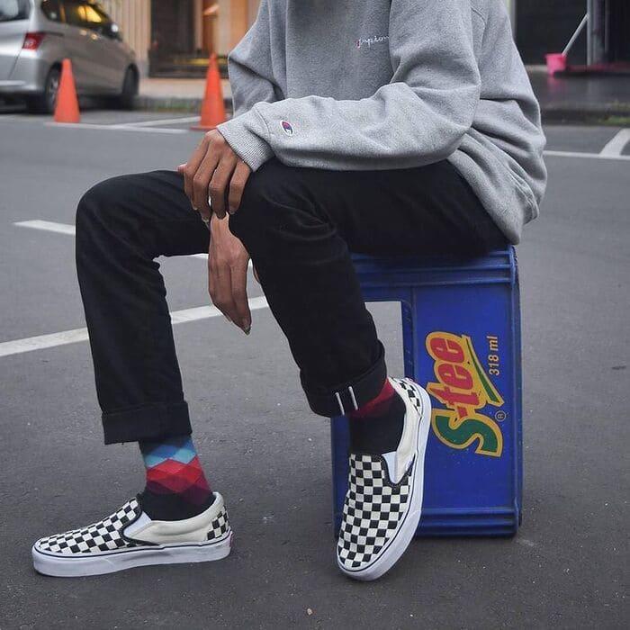các mẫu giày vans slip-on đẹp cho nam