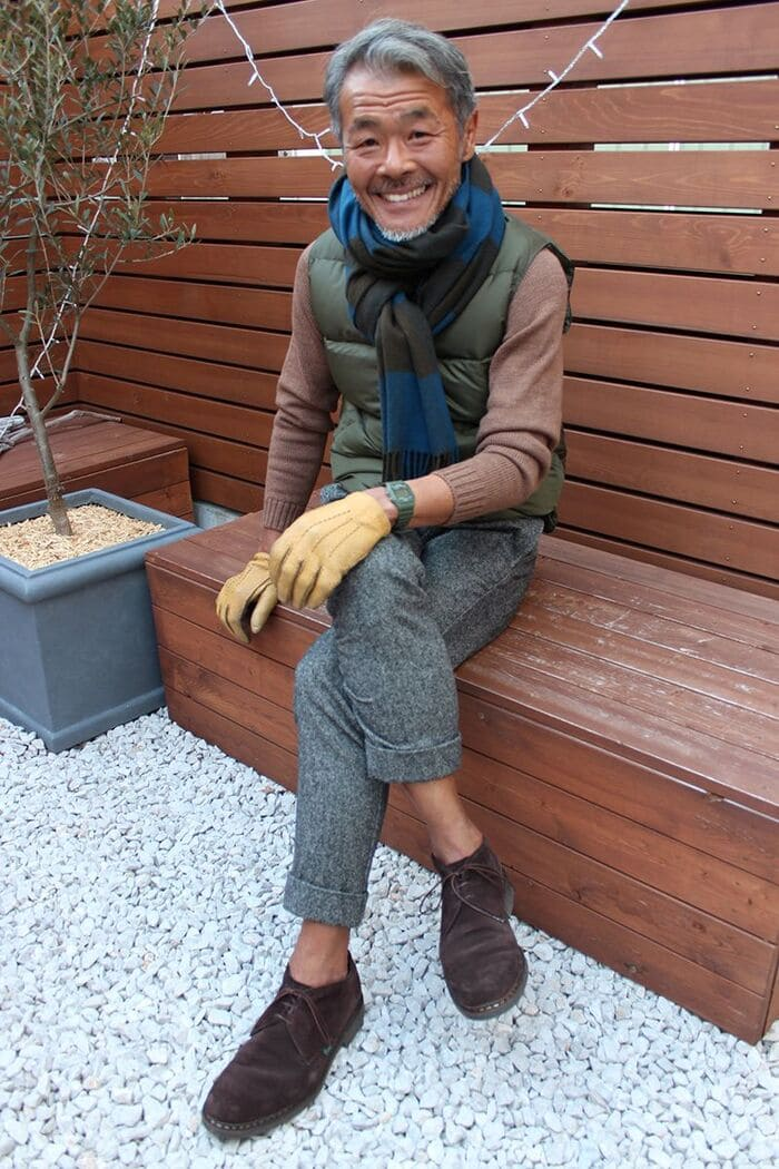 giày đế cao cùng quần vải đẹp