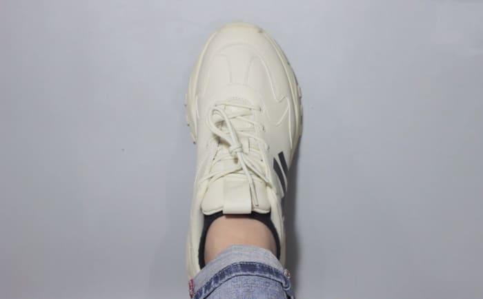 những cách thắt dây giày mlb chunky