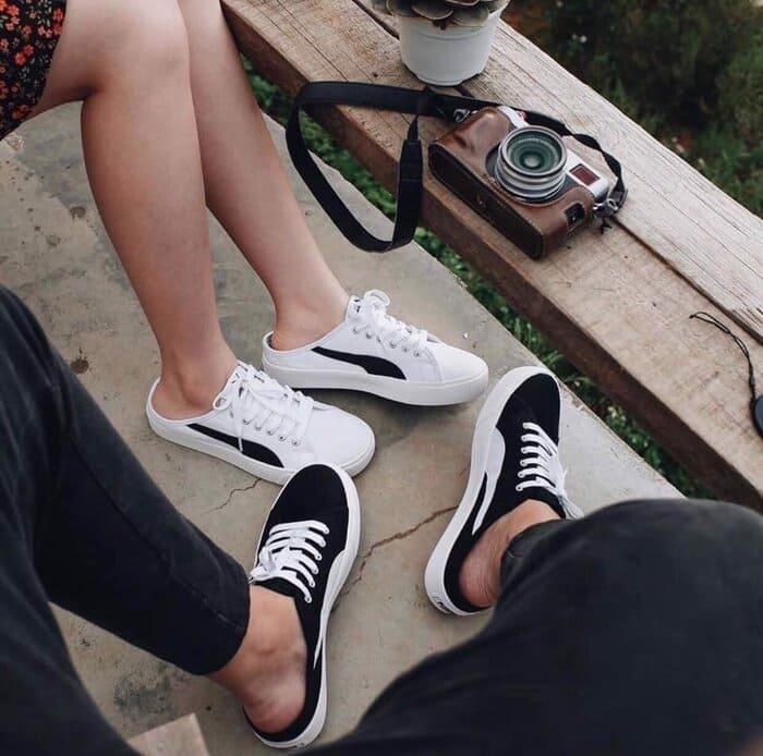 những đôi giày puma bari hở gót đẹp