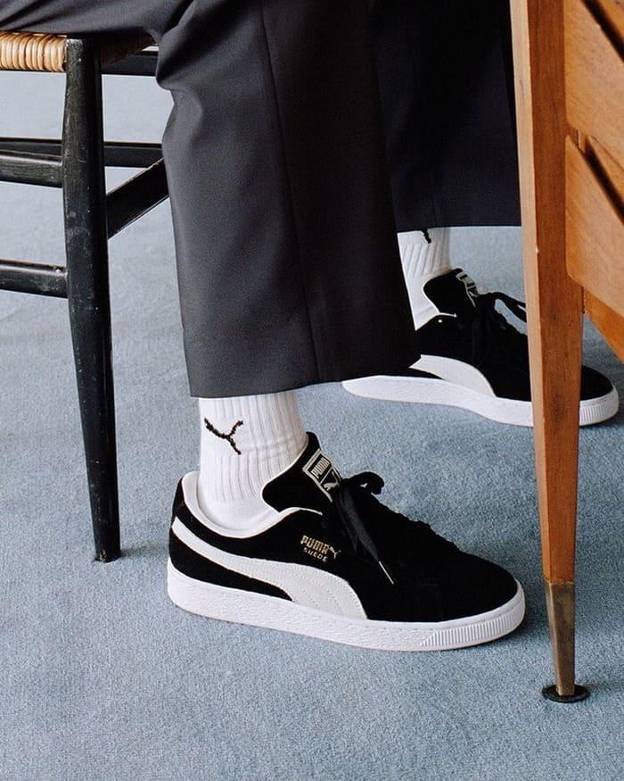 những đôi giày puma suede cá tính cho nam