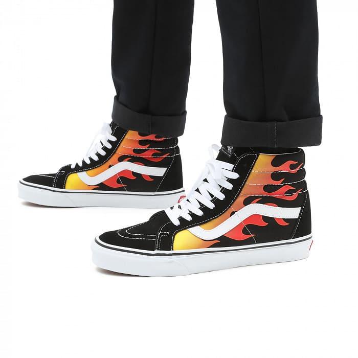 những mẫu giày vans flame đẹp cho nam