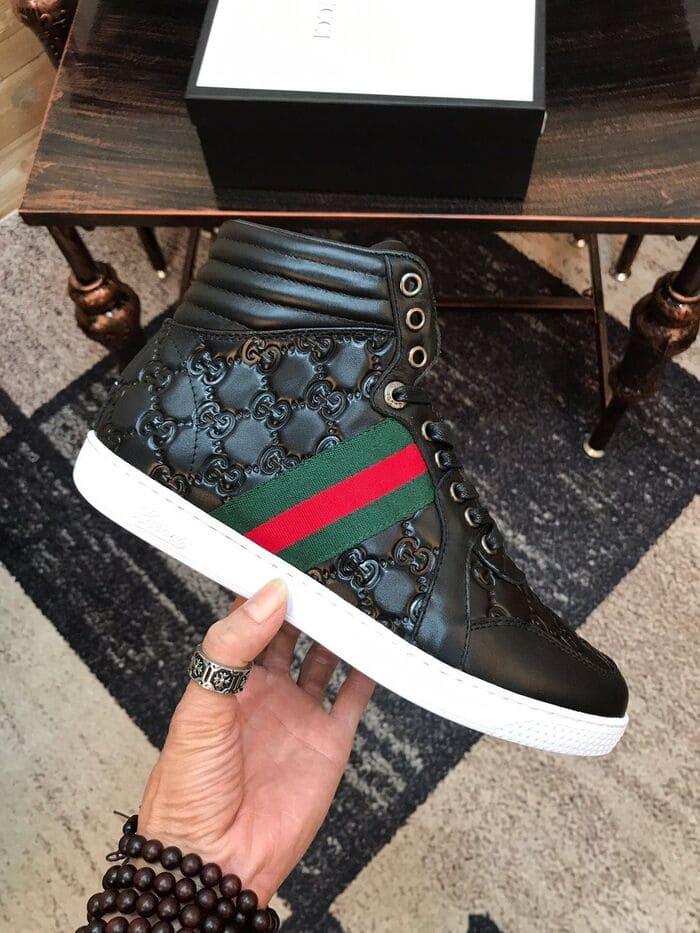 các mẫu giày ace gucci signature đẹp cho nam nữ