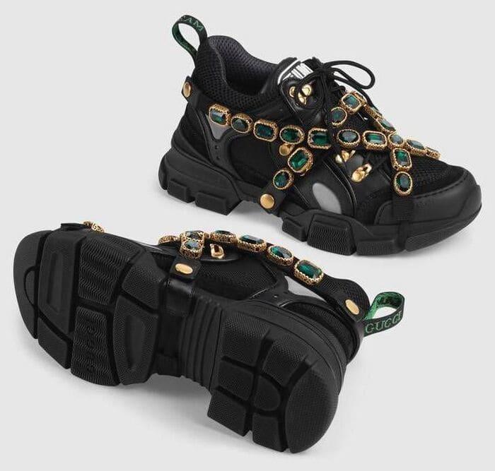 các mẫu giày flashtrek sneaker with removable crystal cool ngầu cho nam nữ