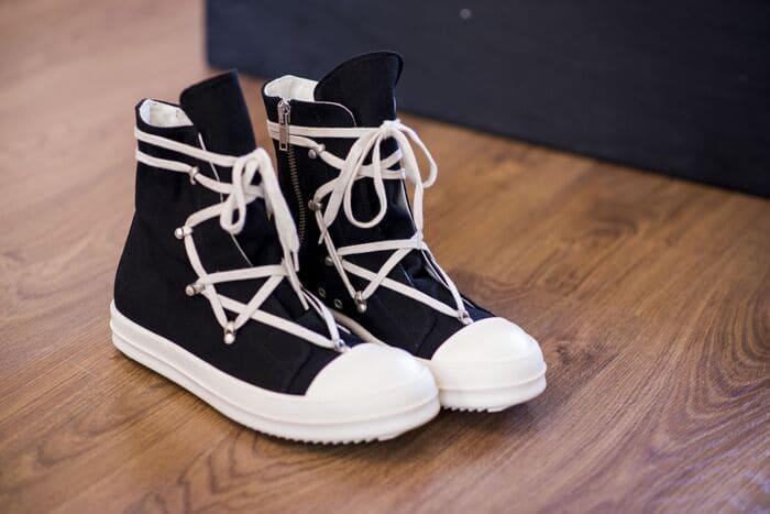 các mẫu giày rick owens hexagram cho nam nữ