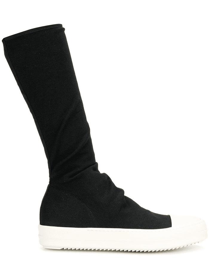 các mẫu giày rick owens mid calf boot đẹp cho nữ
