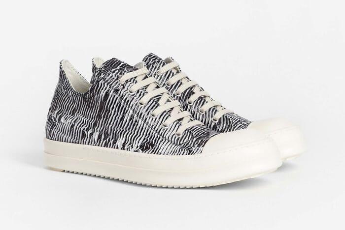 các mẫu giày rick owens zebra đẹp cho nam nữ