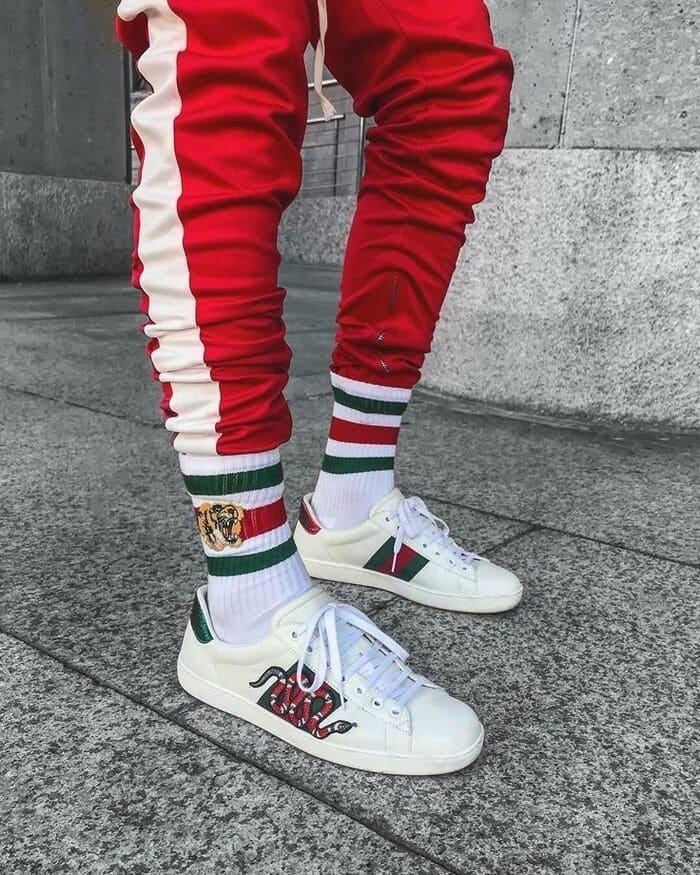 giày gucciace embroidered đẹp dành cho nam