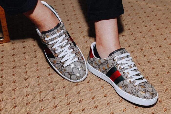 giày gucci womens ace gg supreme with bees cho nam