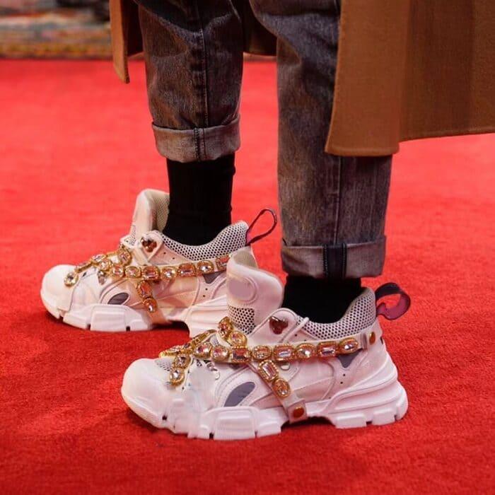 những đôi giày flashtrek sneaker with removable crystal cook ngầy cho nam