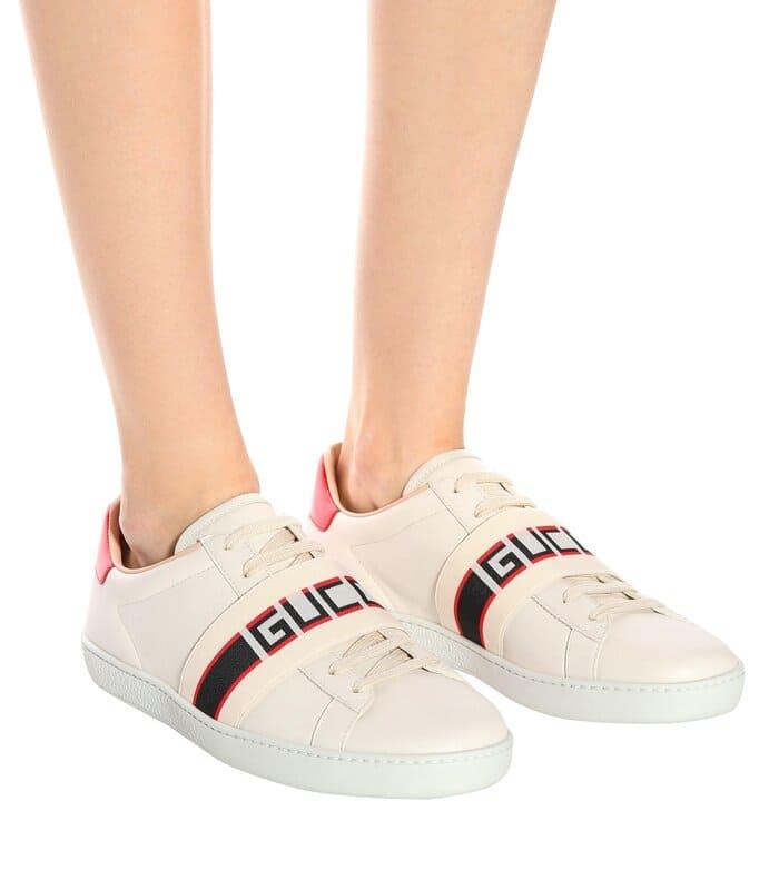 những mẫu giày gucci ace stripe cực ngầu cho nữ