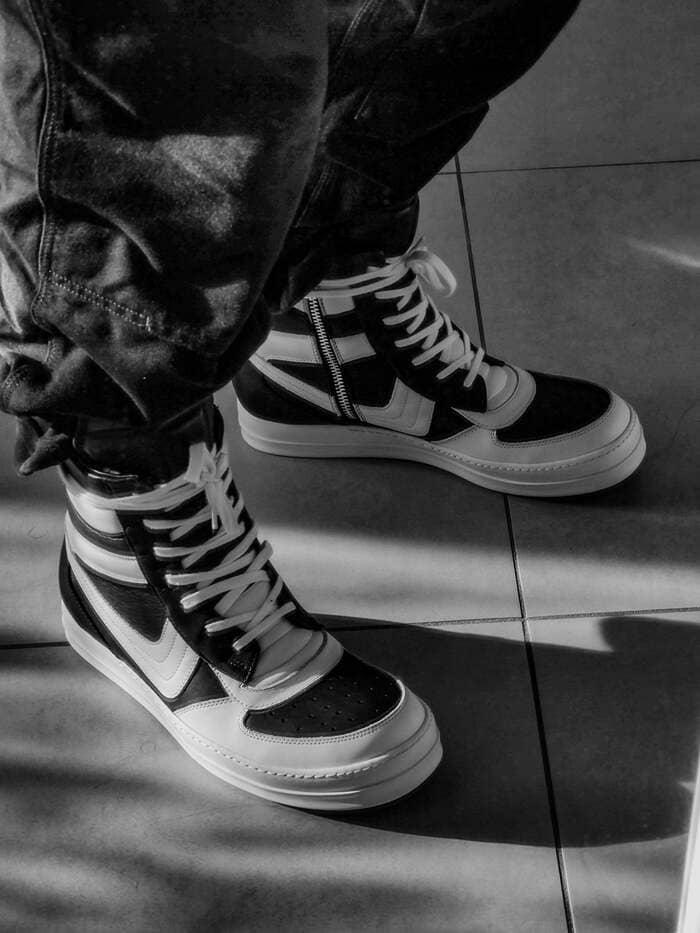 những mẫu giày rick owens dunks đẹp cho nam nữ